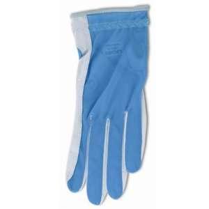 Lady Classic Solar Full Finger Golf Glove Blue Small RH