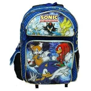Sega Sonic The Hedgehog Large Rolling Roller Luggage