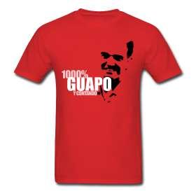 1000% guapo (y contando) Standard Tee  Camisetas Futboleras   Cámara