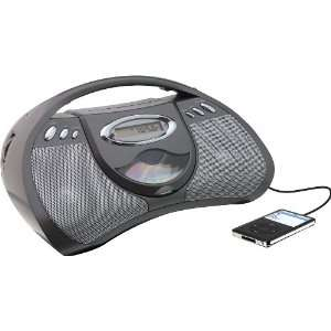 GPX Portable CD Player with AM/FM Radio, Line in for