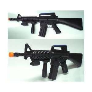 Assault Rifle Battery Operated Sub Machine Gun with Lights and Sound