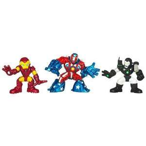 Marvel Super Hero Squad Iron Man / War Machine / Detroit