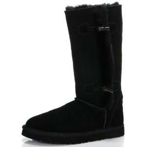 Ugg Boots Classic Tall Beva Black: Sports & Outdoors