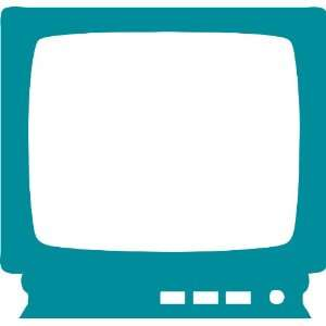 Television Removable Wall Sticker