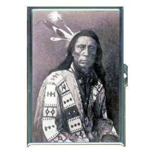CHIEF RED CLOUD SIOUX INDIAN ID Holder, Cigarette Case or Wallet MADE