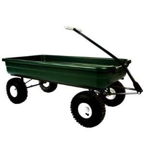 Dirt King Tricycle Wagon, Green Toys & Games
