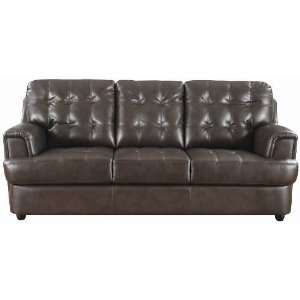 Coaster Furniture 502681 Hugo Bonded Leather Upholstered Sofa with