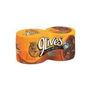 9 Lives Tuna Select Flakes of Real Tuna & Egg Bits Cat