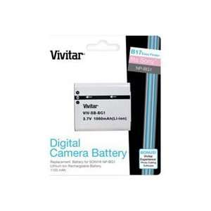 Vivitar Replacement Rechargeable Lithium Battery for Sony