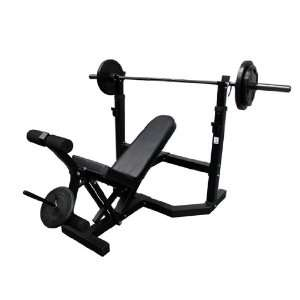 Minotaur Fitness Olympic Weight Bench (KL9819): Sports & Outdoors
