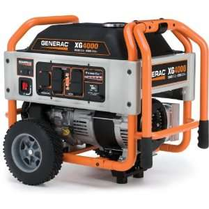 Gas Powered Portable Generator With Wheel Kit Patio, Lawn & Garden