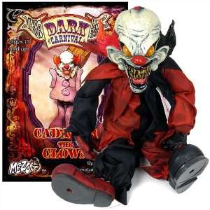 Mezco Dark Carnival Presents Cadaver The Clown 22 Doll (Figure) NEW