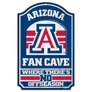 ARIZONA WILDCATS OFFICIAL 9X30 WOOD SIGN Sports