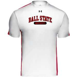 Under Armour Ball State Cardinals Team Zone T Shirt Sports & Outdoors