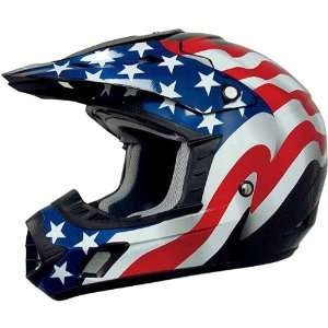 AFX Freedom Adult FX 17 MotoX Motorcycle Helmet   Black