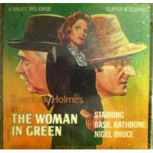 Sherlock Holmes in THE WOMAN IN GREEN   Super 8mm Sound Movie (Plays