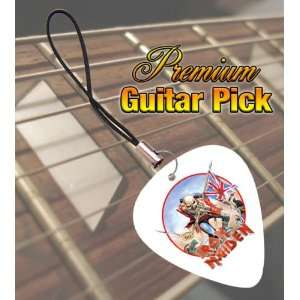 Iron Maiden The Trooper Premium Guitar Pick Phone Charm