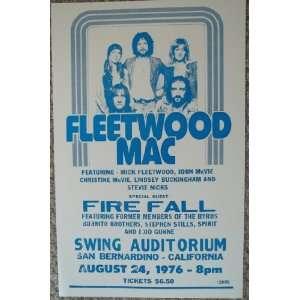Fleetwood Mac and Fire Fall in San Bernardino California
