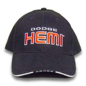 Dodge Hemi Sandwich Brim Black Hat