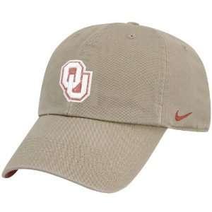Nike Oklahoma Sooners Khaki Mascot Campus Hat