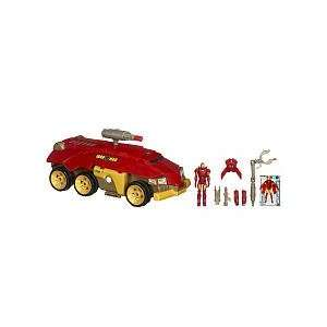 Iron Man 3 3/4 In Rolling HQ Vehicle Asst Toys & Games