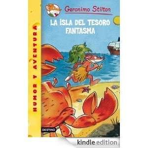 La isla del tesoro fantasma Geronimo Stilton 42 (Spanish Edition