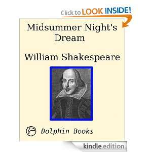 Midsummer Nights Dream William Shakespeare  Kindle Store