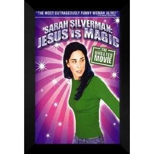 Sarah Silverman Jesus Magic 27x40 FRAMED Movie Poster