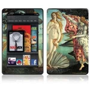 Kindle Fire Decal Skin Sticker   Birth of Venus