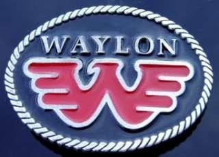 Waylon Jennings Outlaw Music Cool Belt Buckle Clothing
