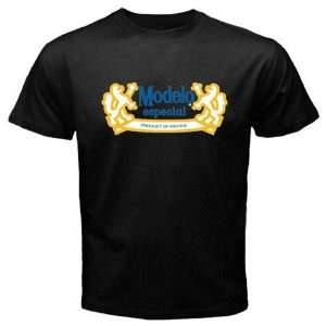 Modelo Beer Logo New Black T shirt Size S Everything
