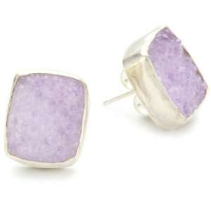 Melissa Joy Manning Sand Sterling Silver Lavender Druzy