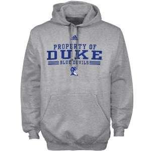 adidas Duke Blue Devils Ash Property Of Hoody Sweatshirt