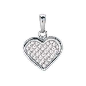 14K White Gold 0.5cttw Love Me Dearly Invisible Set Princess Diamond