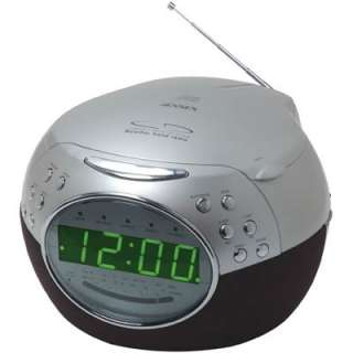 jensen dual alarm am fm weather band radio cd player clock meijer. Black Bedroom Furniture Sets. Home Design Ideas