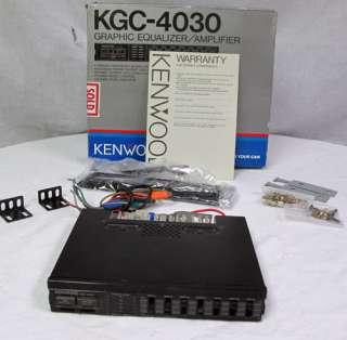 Vintage Kenwood Car Graphic Equalizer Amplifier 12V KGC 4030 1986 4