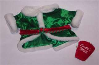 Build Bear Stuffed Animal Christmas Elf Set Outfit Xmas