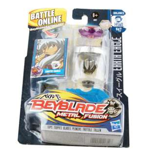 NEW Beyblade Metal Fusion EARTH EAGLE BALANCE BB47 Toy