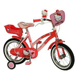 Hello Kitty Children Bicycle   bike with 14 wheels