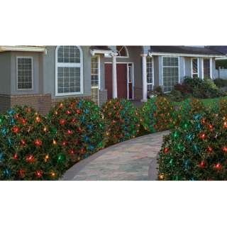 Walmart Holiday Time Heavy Duty Net Christmas Lights, Mulit Color