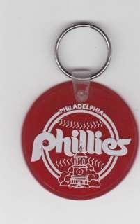 1986 Philadelphia Phillies Schedule Keychain WTAF TV