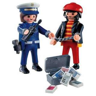 PLAYMOBIL Police 4269 Police with Thief