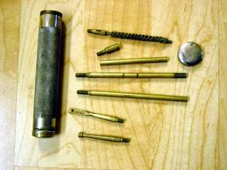 Hoppes 9 Aluminum Gun Cleaning Rod Kit 22 Cal Caliber