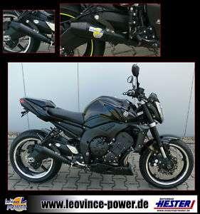 Auspuff LeoVince GP Style KAT SCHWARZ Yamaha FZ 1 RN16