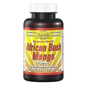 Health African Bush Mango™ with Irvingia   DYNAMIC HEALTH   GNC