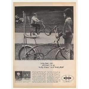 1968 Huffy Wheel and Rail Bicycles Bikes Print Ad (44285