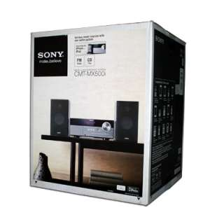 Sony CMT MX500i Micro Shelf System Stereo CD Player iPod 2012