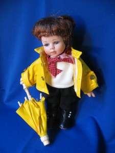 Duck House Heirloom Dolls 0307 of 5000 Raincoat Umbrella 11