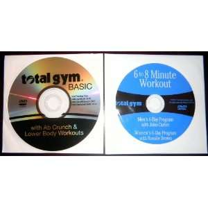 DVD Workout Set Total Gym BASIC with Ab Crunch & Lower Body Workouts