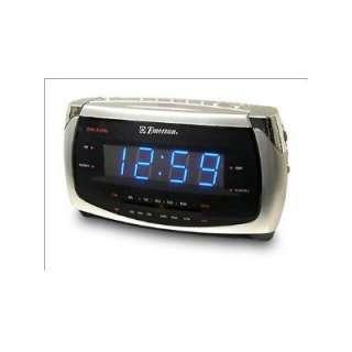 used emerson research smartset dual alarm clock radio cks3020. Black Bedroom Furniture Sets. Home Design Ideas